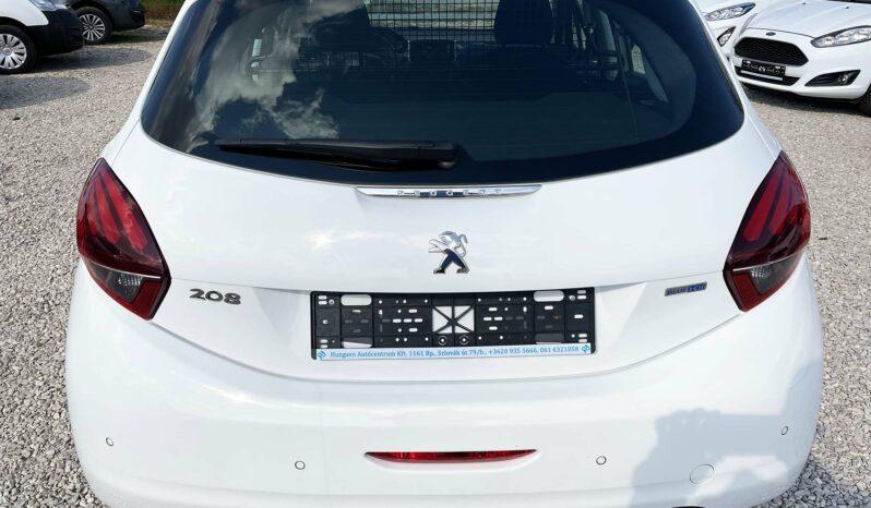 PEUGEOT 208 1.6 BlueHDi Van Active 100Le Navi. Tempo. 2.5%THM 12hó garancia /Vásárolja meg online/ full